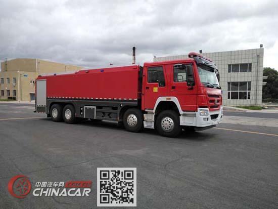 鲸象牌AS5393GXFSG210/H5型水罐消防车图片1