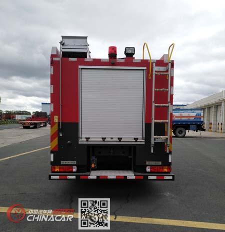 鲸象牌AS5393GXFSG210/H5型水罐消防车图片3