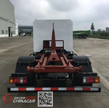 开沃牌NJL5040ZXXBEV型纯电动车厢可卸式垃圾车图片2
