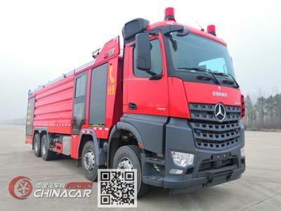 永强奥林宝牌RY5380GXFSG180/20型水罐消防车图片1