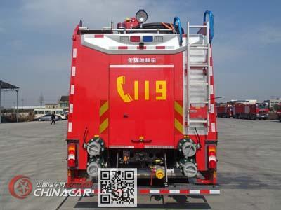 永强奥林宝牌RY5380GXFSG180/20型水罐消防车图片2