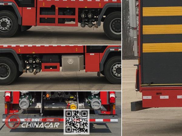 永强奥林宝牌RY5380GXFSG180/20型水罐消防车图片3