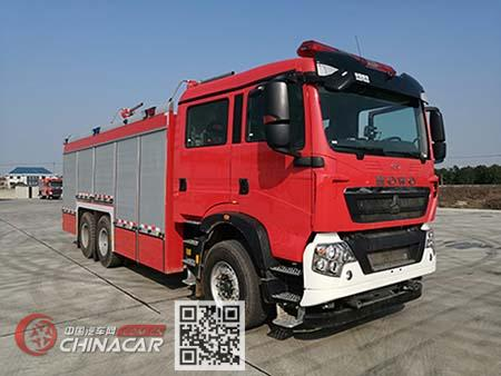 川消牌SXF5241GXFGF60型干粉消防车图片1