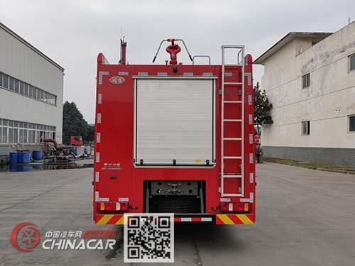 川消牌SXF5241GXFGF60型干粉消防车图片2