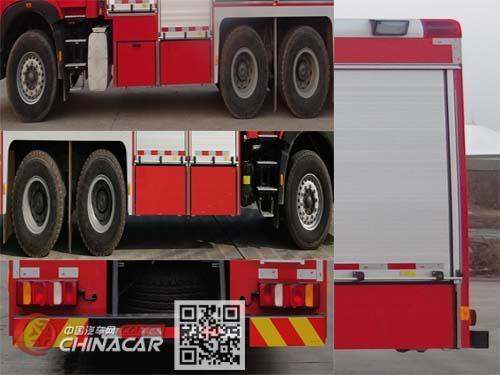 川消牌SXF5241GXFGF60型干粉消防车图片3