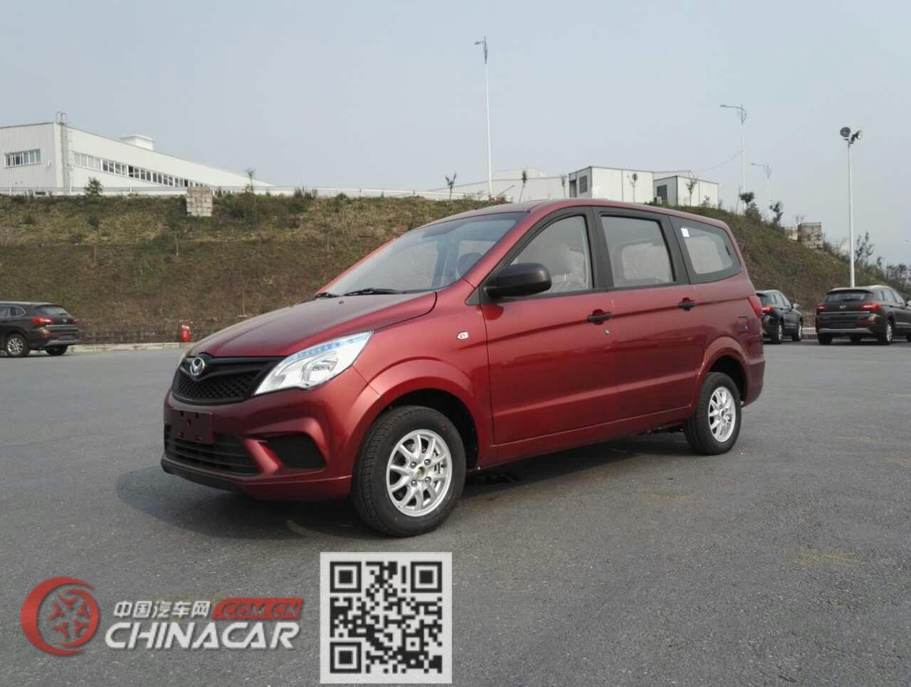 北京牌BJ6452BKV1Z型多用途乘用车图片2