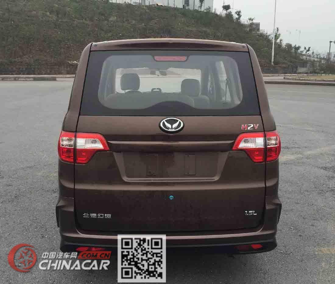 北京牌BJ6452BKV1Z型多用途乘用车图片3