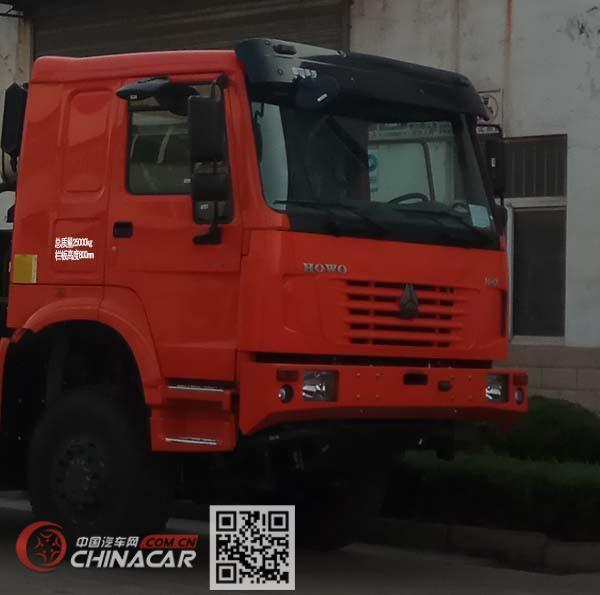 豪沃牌ZZ2257N5857E1X型越野载货汽车图片3