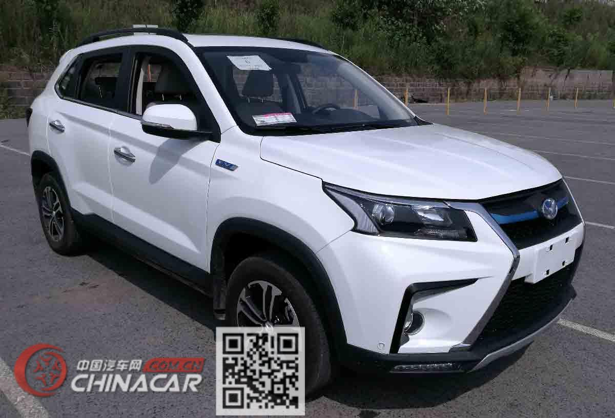 北京牌BJ6450JJN6XBEV型纯电动多用途乘用车图片1