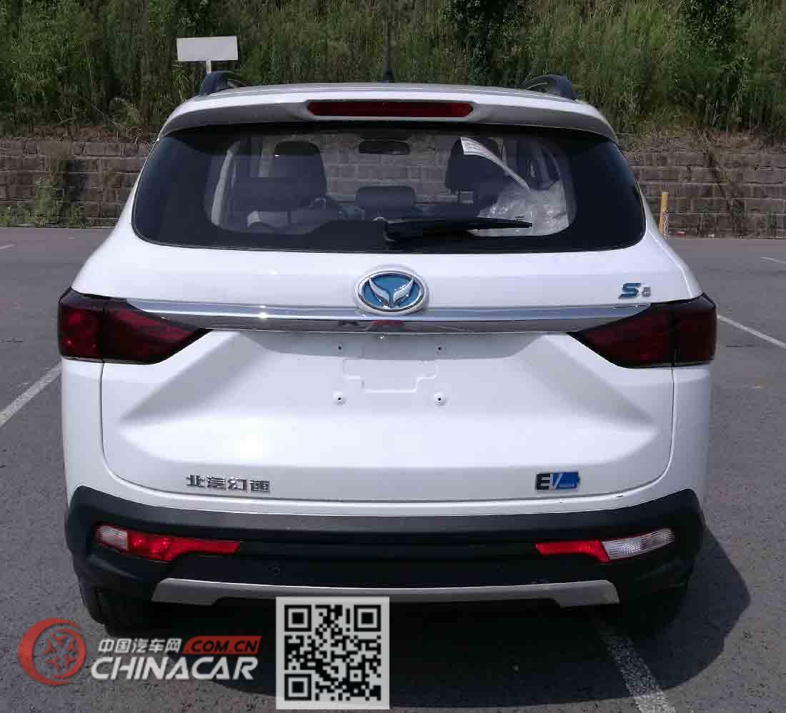 北京牌BJ6450JJN6XBEV型纯电动多用途乘用车图片2