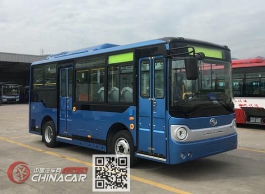 金龙牌XMQ6650AGBEVL1型纯电动城市客车图片1