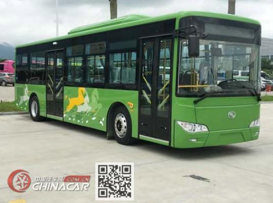 金龙牌XMQ6106AGBEVL25型纯电动城市客车图片1