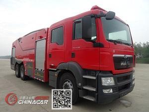 捷达消防牌SJD5281GXFSG120/MEA型水罐消防车图片1