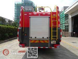 捷达消防牌SJD5281GXFSG120/MEA型水罐消防车图片2