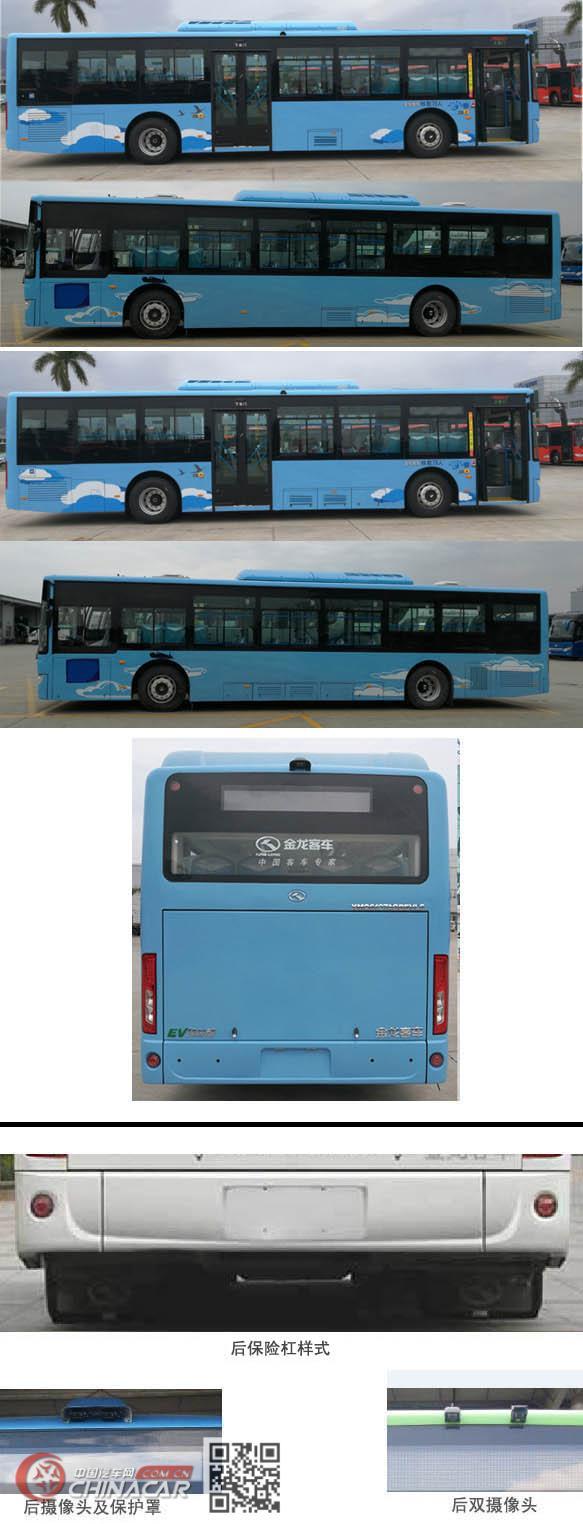 金龙牌XMQ6127AGBEVL8型纯电动城市客车图片4