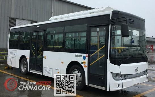 金龙牌XMQ6810AGBEVL2型纯电动城市客车图片1