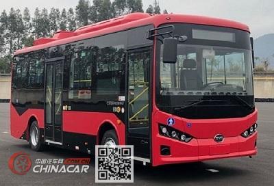 比亚迪牌BYD6810HZEV10型纯电动城市客车图片1