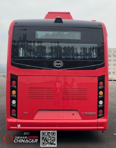 比亚迪牌BYD6810HZEV10型纯电动城市客车图片3