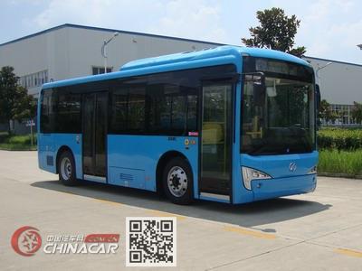 北京牌BJ6851B21EV型纯电动城市客车图片1