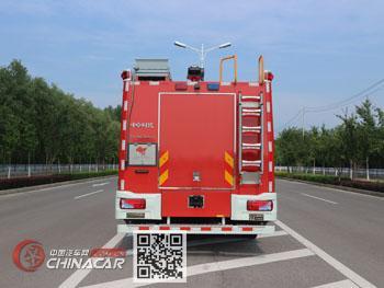 中卓时代牌ZXF5170GXFSG60/M5型水罐消防车图片2
