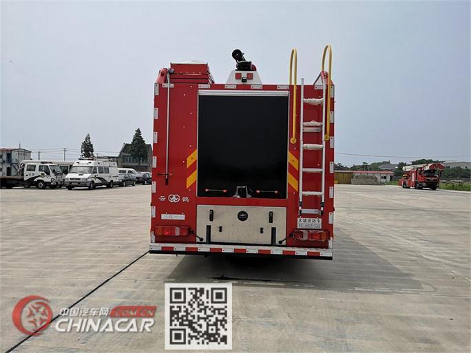 云鹤牌WHG5180GXFSG60型水罐消防车图片2