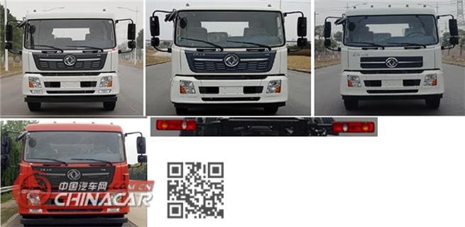 东风牌DFZ5180GQXEX8型清洗车图片2