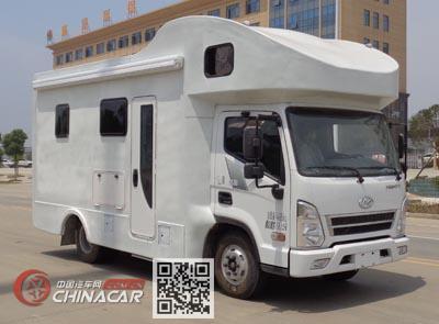 程力威牌CLW5040XLJCM5型旅居车图片