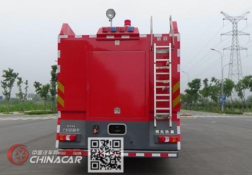 光通牌MX5260GXFGF60型干粉消防车图片2