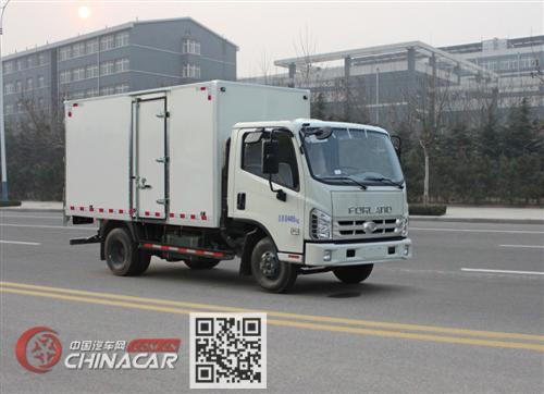 福田牌BJ5043XXY-J7型厢式运输车图片