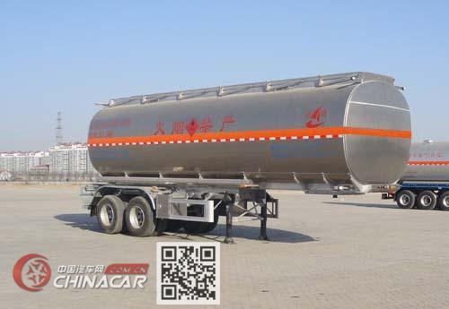昌骅牌HCH9350GYY型铝合金运油半挂车图片1