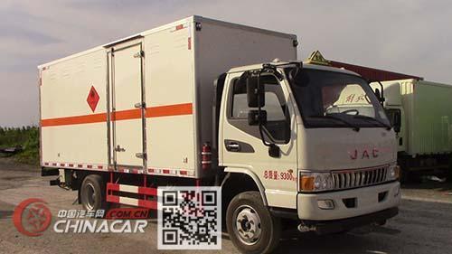 多士星牌JHW5090XRYH型易燃液体厢式运输车图片