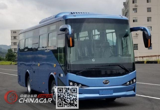 比亚迪牌BYD6811HZEV型纯电动城市客车图片1