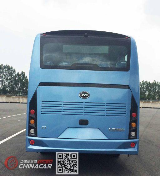 比亚迪牌BYD6811HZEV型纯电动城市客车图片3