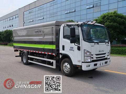 中联牌ZBH5080XTYQLE6型密闭式桶装垃圾车图片