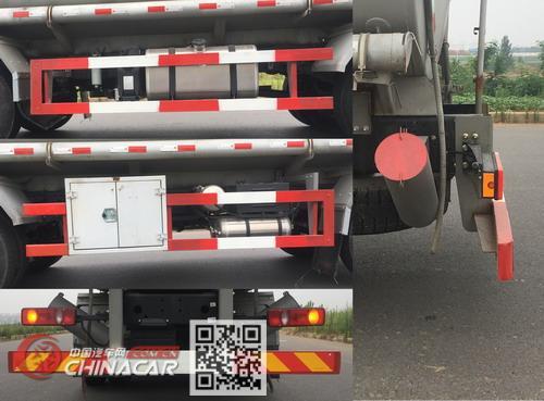 东风牌DFH5250GPGBXV型普通液体运输车图片4