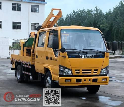 路鑫牌NJJ5070TQX6型护栏抢修车图片1