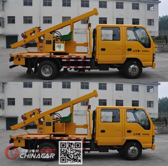 路鑫牌NJJ5070TQX6型护栏抢修车图片2