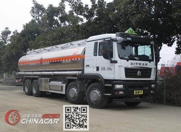 醒狮牌SLS5326GRYZ6型易燃液体罐式运输车图片1