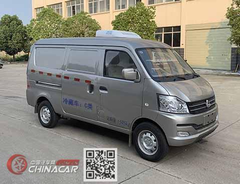 楚飞牌CLQ5020XLC6SC型冷藏车图片