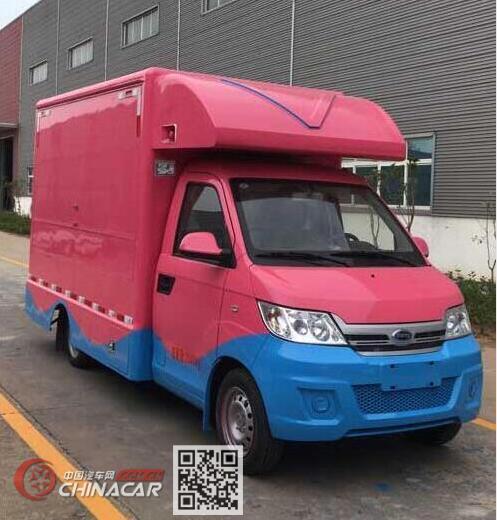 程力威牌CLW5020XSHRL6型售货车图片