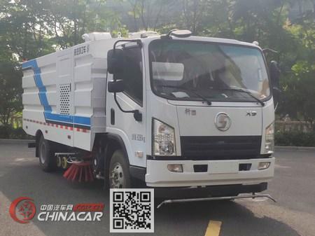 陕汽牌SX5080TXSNP6381型洗扫车图片