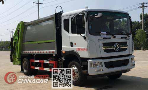 楚飞牌CLQ5180ZYS6型压缩式垃圾车图片