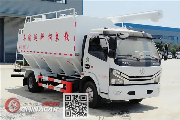 程力牌CL5120ZSLE6型散装饲料运输车图片