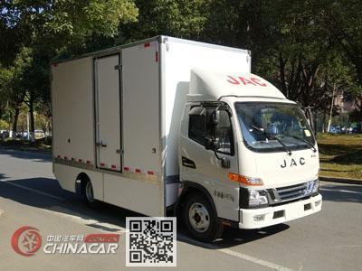 江淮牌HFC5045XXYEV1-1型纯电动厢式运输车图片