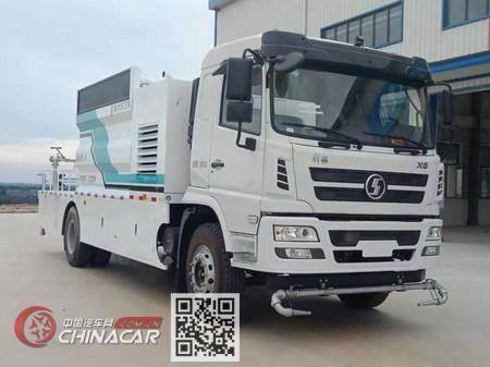 陕汽牌SX5182TDYGP6501型多功能抑尘车图片
