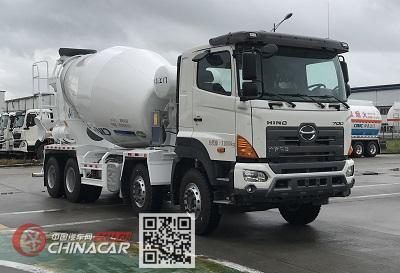 中集牌ZJV5313GJBJMYC型混凝土搅拌运输车图片