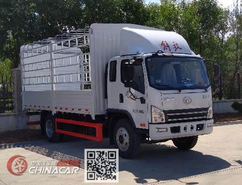 解放牌CA5140CCYP40K62L4E6A85型仓栅式运输车图片