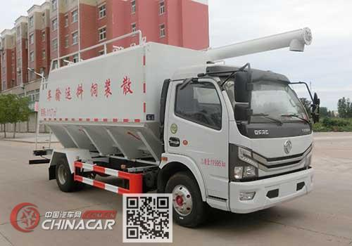 虹宇牌HYS5120ZSLE6型散装饲料运输车图片