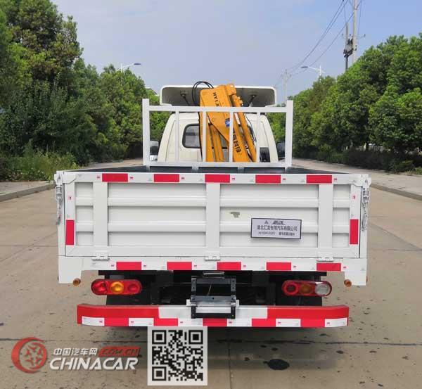 龙星汇牌HLV5041JSQFD型随车起重运输车图片4