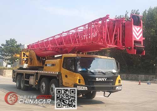 三一牌SYM5465JQZ(STC750T)型汽车起重机图片